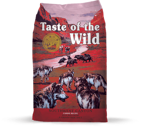 Taste Of The Wild,Taste Of The Wild Grain Free Southwest Canyon with Wild Boar Dry Dog Food