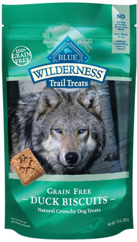 Blue Buffalo,Blue Buffalo Wilderness Trail Grain Free Duck Dog Treats