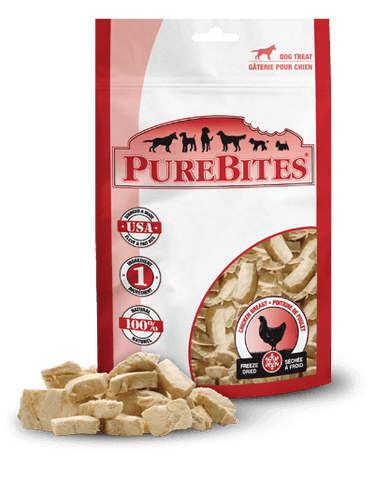 PureBites,PureBites Freeze Dried Chicken Breast Dog Treats
