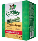 Greenies,Greenies Regular Grain Free Dental Dog Chews