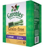 Greenies,Greenies Large Grain Free Dental Dog Chews