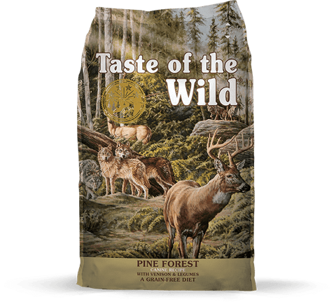 Taste Of The Wild,Taste Of The Wild Grain Free Pine Forest Recipe Dry Dog Food