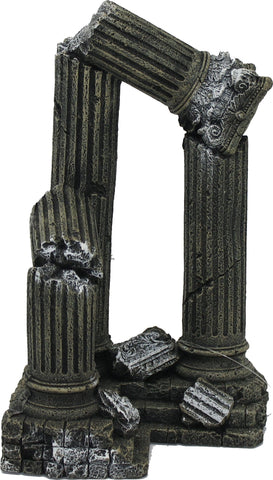 Blue Ribbon Pet Products - Exotic Environments 3 Column Ruins Corner Section