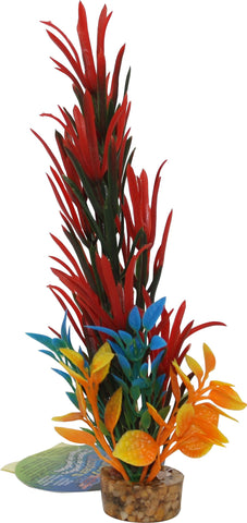 Blue Ribbon Pet Products - Color Burst Florals Large Brush Plant