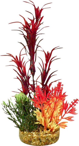 Blue Ribbon Pet Products - Color Burst Florals Garden Bouquet Plant