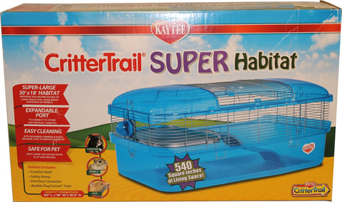 Super Pet- Container - Kaytee Crittertrail Super Habitat