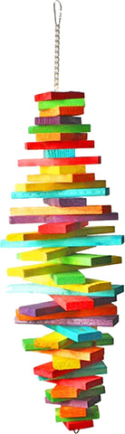 A&e Cage Company Bird-Toys MULTI / MEDIUM A&e Cage Company - Hb Spiral Blocks