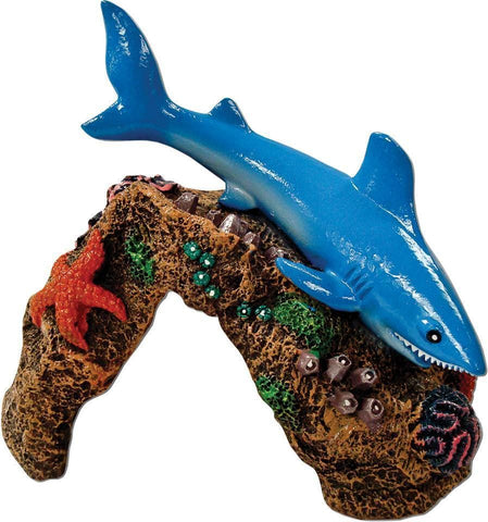 Blue Ribbon Pet Products,Blue Ribbon Pet Products - Exotic Environments Great White Shark