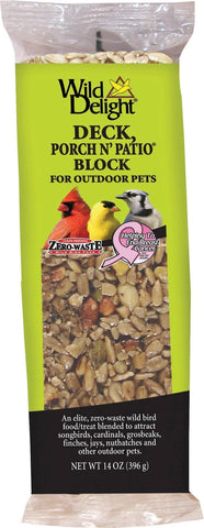 D&d Commodities Ltd. Bird-Wild Bird Food 14 OUNCE D&d Commodities Ltd. - Wild Delight Deck Porch N' Patio Block