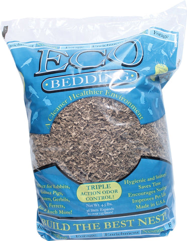 Fibercore Llc Small Animal-Bedding BROWN / 4.5 LB Fibercore Llc - Eco Bedding With Odor Control