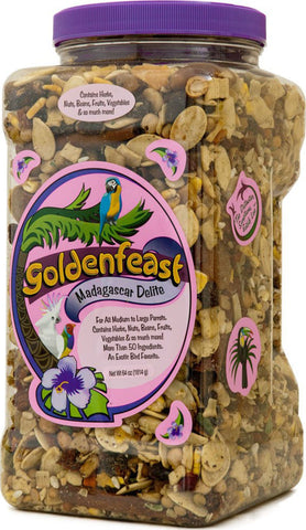 Goldenfeast Inc. Bird-Food 64 OUNCES Goldenfeast Inc. - Goldenfeast Madagascar Delite