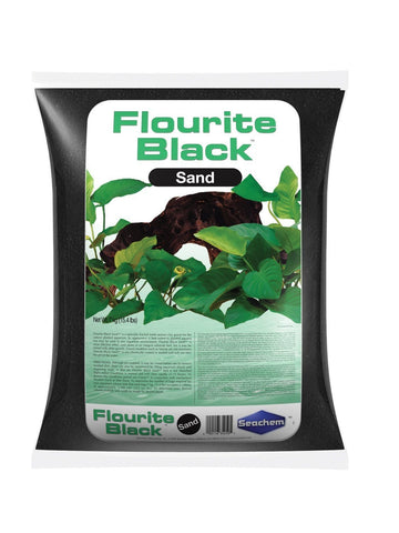 Seachem Laboratories Inc Fish-Accessories BLACK / 7 KILOGRAM Seachem Laboratories Inc - Flourite Sand (Case of 2 )
