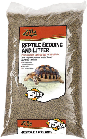 Zilla Reptile-Specialty 15 POUND Zilla - Alfalfa Meal Reptile Bedding And Litter
