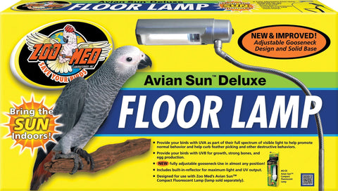 Zoo Med Laboratories Inc,Zoo Med Laboratories Inc - Aviansun Deluxe Floor Lamp