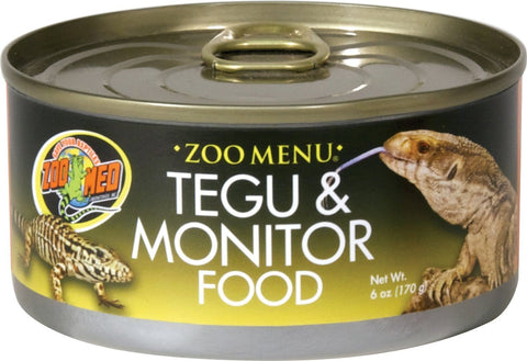 Zoo Med Laboratories Inc Reptile-Food 6 OUNCE Zoo Med Laboratories Inc - Zoo Menu Tegu And Monitor Canned Food