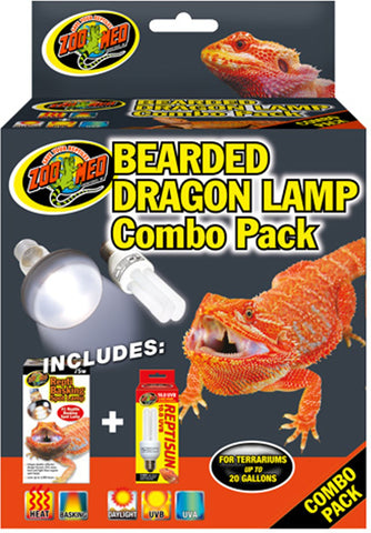 Zoo Med Laboratories Inc,Zoo Med Laboratories Inc - Bearded Dragon Lamp Combo Pack