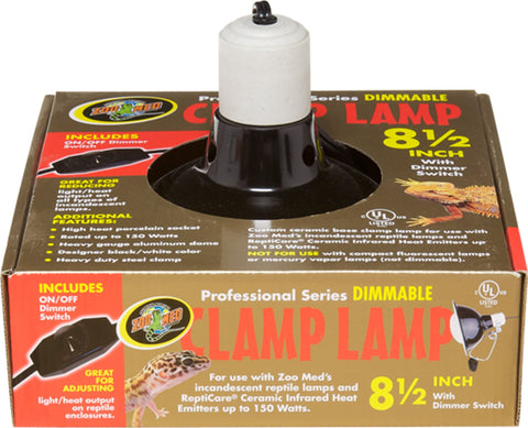 Zoo Med Laboratories Inc,Zoo Med Laboratories Inc - Professional Series Dimmable Clamp Lamp