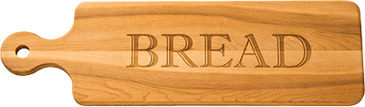 "Bread Board - Personalized 20"" - inthisveryroom"