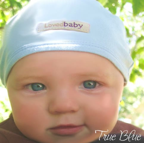L'Oved Baby Infant Caps - Pink, Green, Brown & Blue