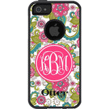 Personalized Floral Otterbox Case 2