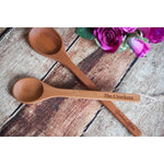Personalized Wooden Spoons