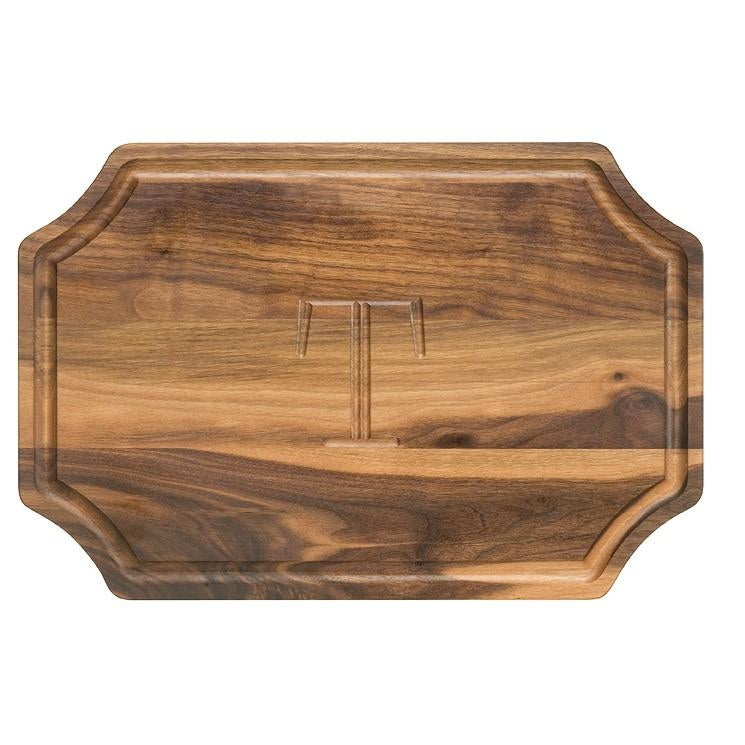 Large Walnut Personalized Wood Cutting Board