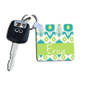 iKat Floral Keychain