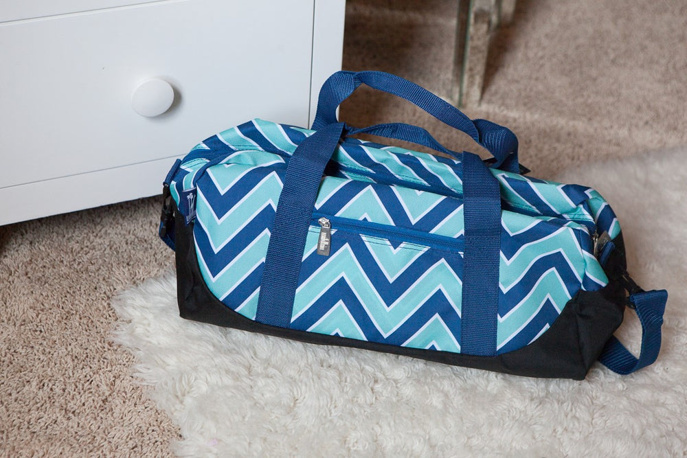 *SOLD OUT* Zig Zag  Chevron Sleepover Duffle Bag - inthisveryroom