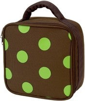 Lime Dots Toddler Backpack by Four Peas