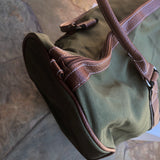 Olive & Brown Duffel