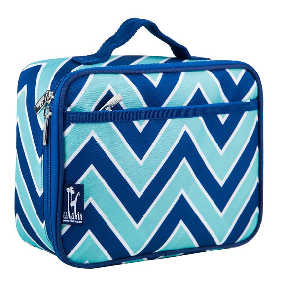Personalized Chevron Lunch bag for kids