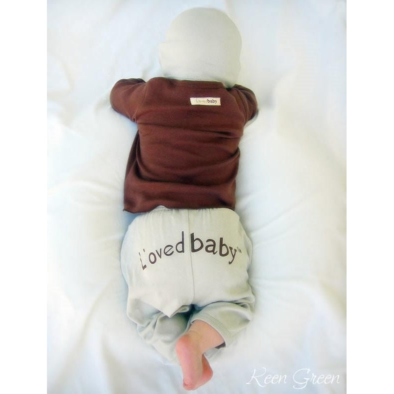 L'Oved Baby Cotton Pants - Pink, Green, Blue, Brown & Sand