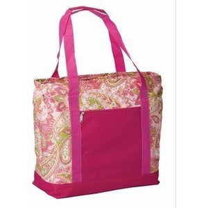 *SOLD OUT* Pink Paisley 2-in-1 Cooler Bag - inthisveryroom
