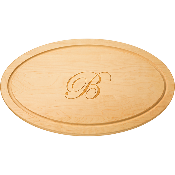 Oval Cutting Board: 12