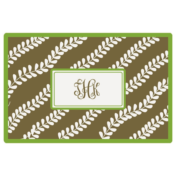 Personalized Placemats - Vines