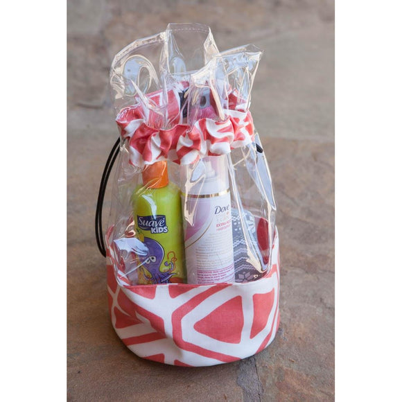 Personalized Drawstring Clear Bags