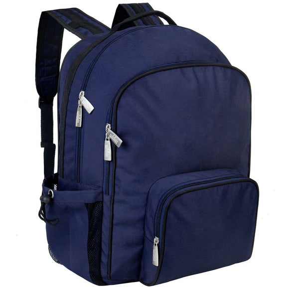 Whale Blue School Backpack