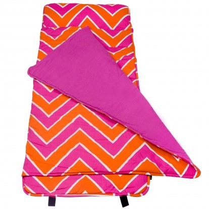 Chevron Pinks  Nap Mat by Wildkin
