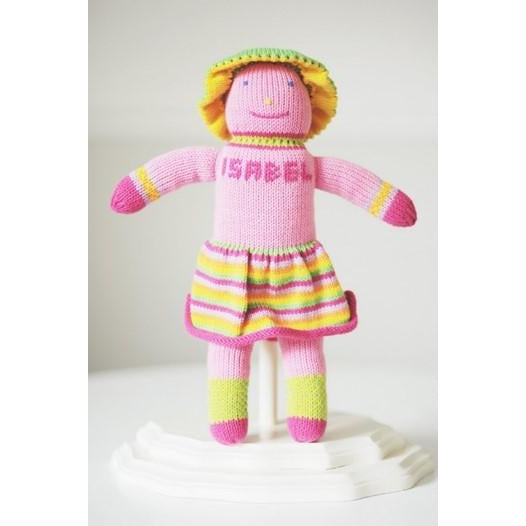 Personalized Hand Knit Girl Dolls