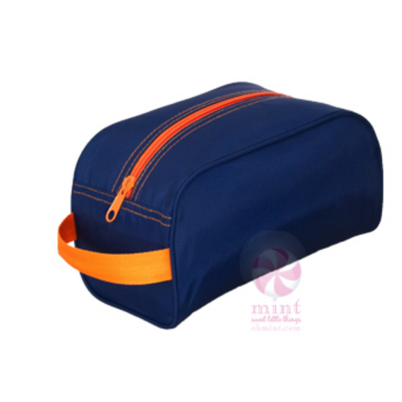 *SOLD OUT* Navy & Orange Travel Bag - inthisveryroom