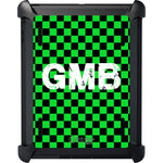 Green Checkered iPad Otterbox Defender Case