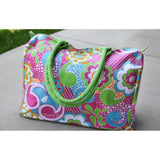 *SOLD OUT* Bright Floral Damask Bag / Duffel - inthisveryroom