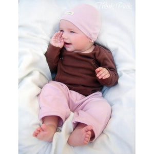 L'Oved Long Sleeved Onesies - Pink, Green, Brown & Blue