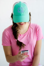 Personalized Trucker Hats for Women / Teens