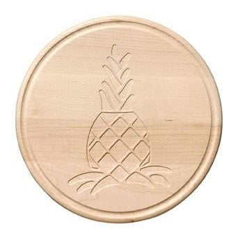 Pineapple Engraved Wooden Cutting Board