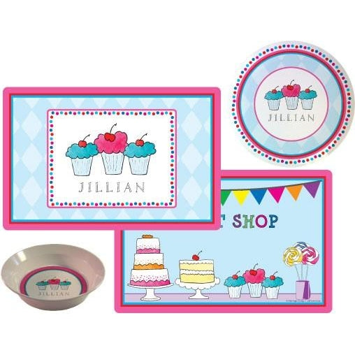 Sweet Shop Kids' Dish Set