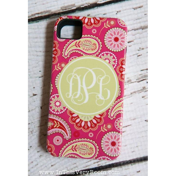 Pretty Paisley Custom Cover - Many Phone Models!