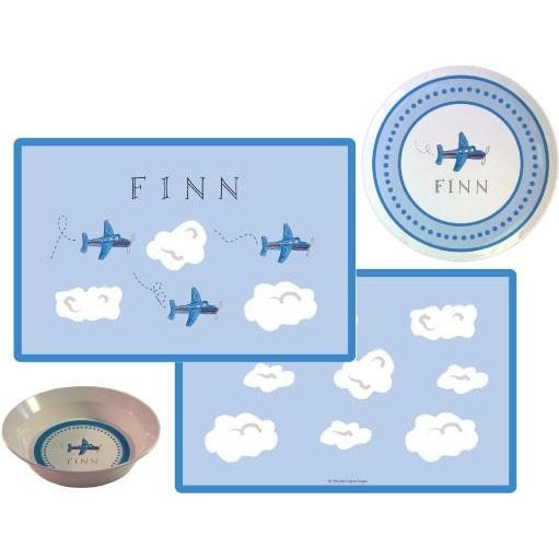 Airplanes Kids' Dish Set - inthisveryroom