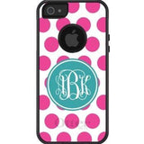 Personalized Polka Dots Otterbox Case
