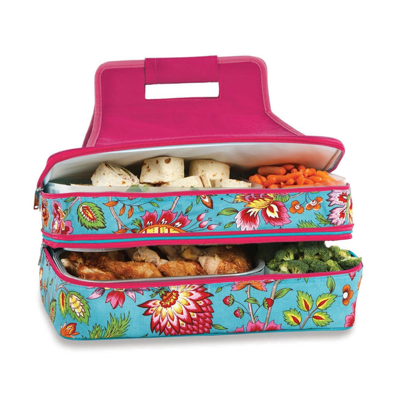 April Cornell Turquoise - Casserole & Food Carrier - inthisveryroom
